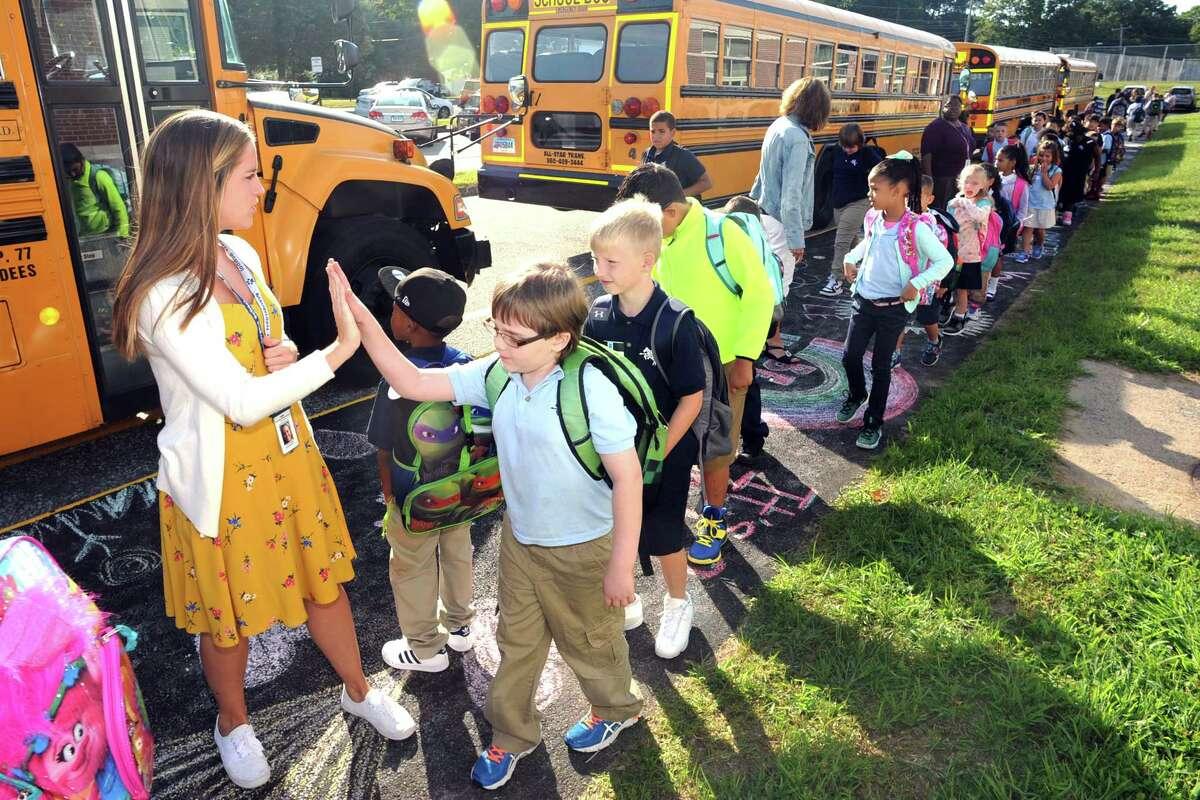 Ansonia Public Schools August 27 - All grades