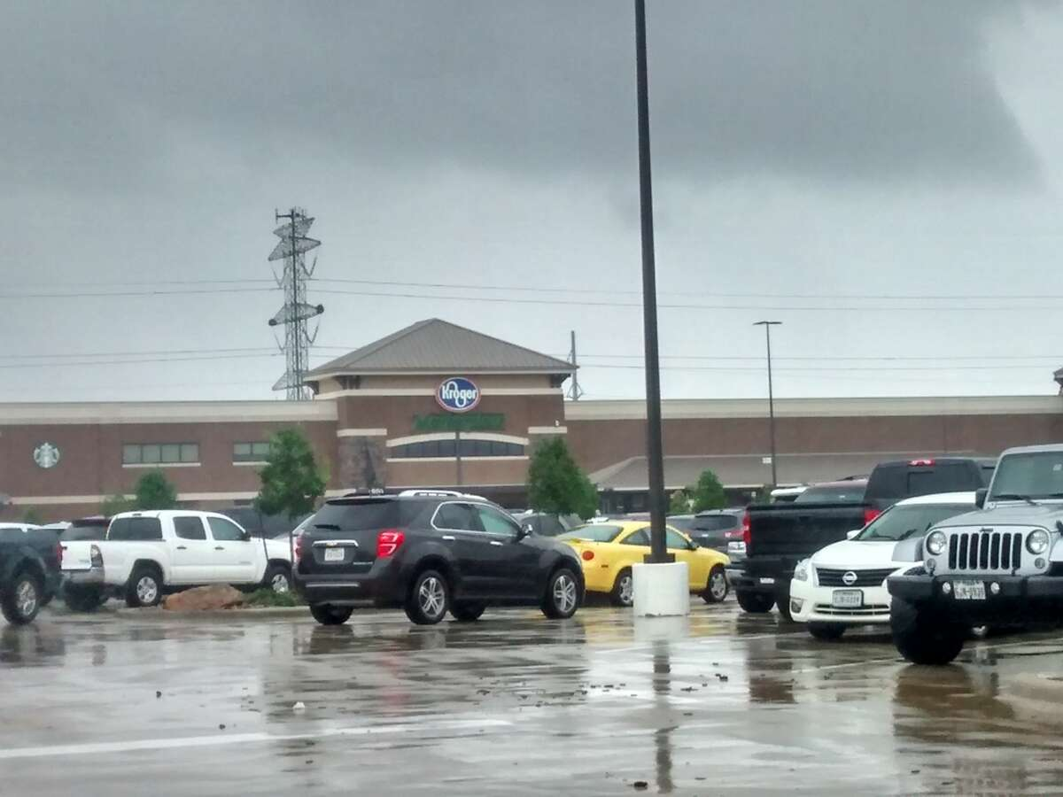 Kroger was open at League City Parkway on Monday, Aug. 28.SLIDESHOW: Houston's dramatic Harvey rescues