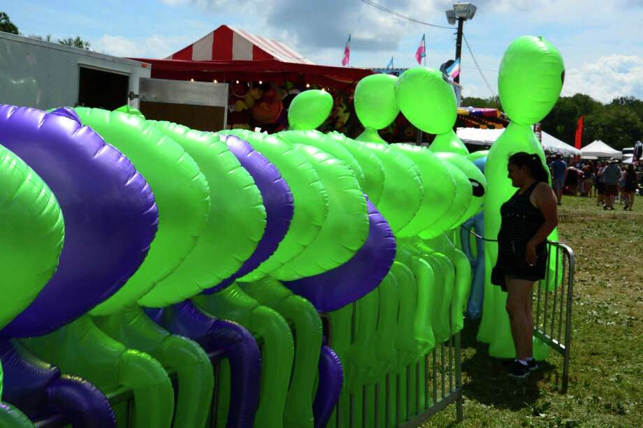 The 66th Annual Bridgewater Country Fair runs through Sunday August 20, 2017. The fair is held as the chief fundraiser for the Bridgewater Volunteer Fire Department. Saturday, August 19, 2017. Though country fairs are fun, the Connecticut Better Business Bureau encourages caution for anyone who might be interested in buying a big ticket item at a fair booth. Photo: Lisa Weir / For Hearst Connecticut Media / The News-Times Freelance