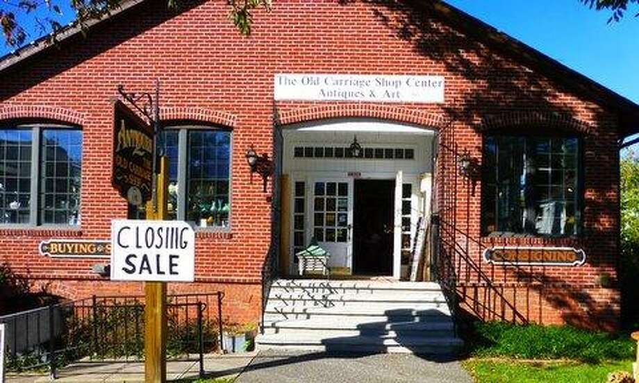 Submitted photo The Carriage Shop Antiques Center on Route 202 in Bantam.