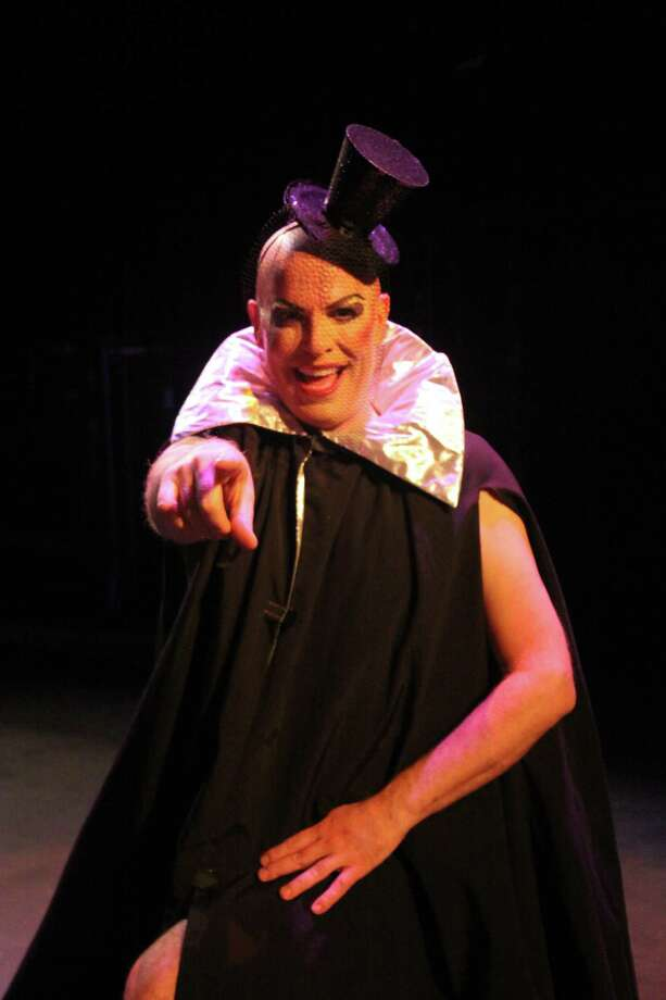 Photo courtesy of Sharon Wilcox Brian Fortin reprises his role as Frank-n-Furter in the Warner Theatre's annual production of The Rocky Horror Show, which opens Oct. 19.