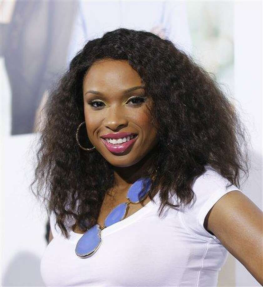"Singer Jennifer Hudson poses Feb. 9 at The Pan African Film & Arts Festival's opening night premiere of Screen Gems' ""Think Like a Man"" in Los Angeles. Associated Press Photo: AP / AP2012"
