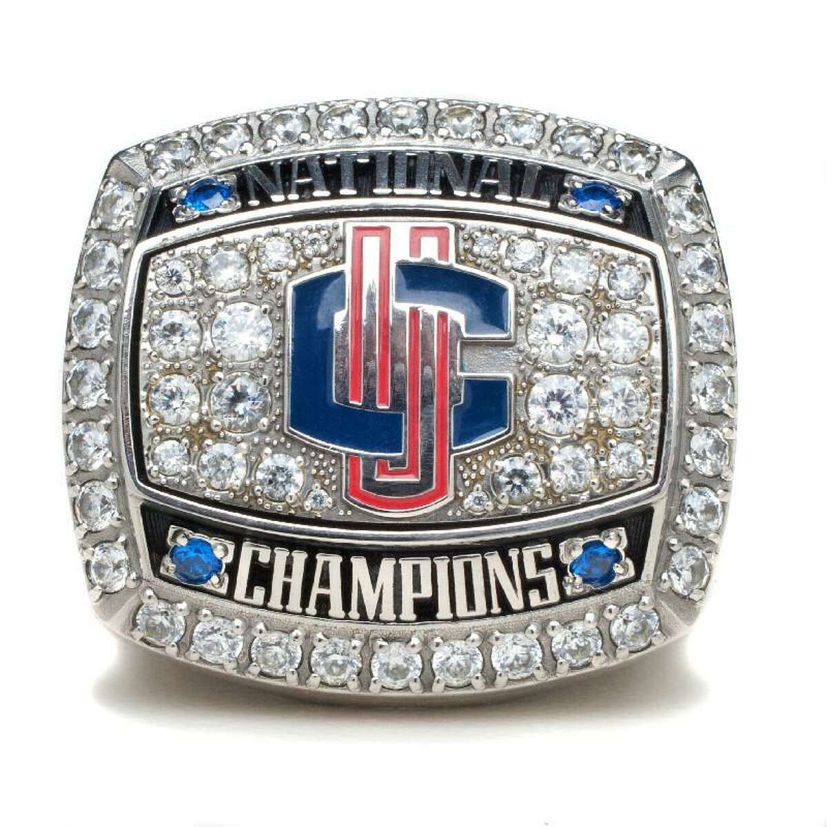 ASSOCIATED PRESS The UConn men's basketball 2011 national championship ring is shown in an undated photo provided by the school's athletics department.