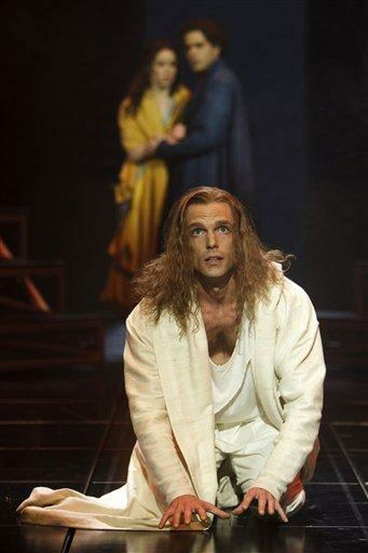 In this undated theater image released by the Stratford Shakespeare Festival, Paul Nolan portrays Jesus in