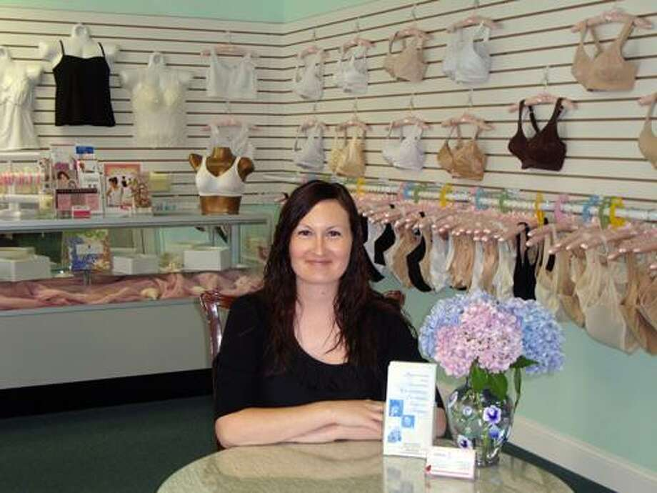 Submitted photo Dawn Stanco, a Lighthouse Medical Equipment BOC Certified Mastectomy Fitter and breast cancer survivor, runs the Women's Boutique, at 120 S. Main St. in Thomaston.