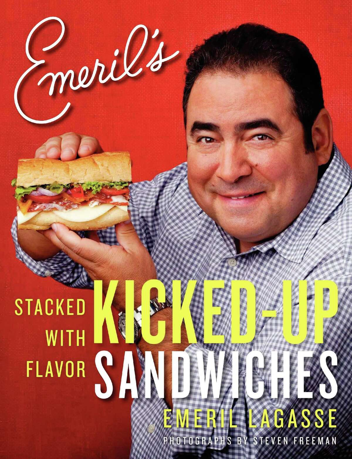 """Submitted photo Carrie Vibert, Torrington's """"Poet in the Pantry"""" is joining 20 other cooking bloggers to create sandwiches for Emeril Lagasse's new cookbook, Kicked Up Sandwiches, due for release on Oct. 16."""