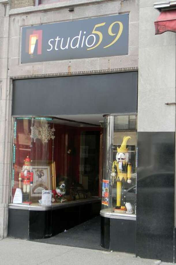MIKE AGOGLIATI/ Register CitizenThe Studio 59 Gallery located at 55 Main Street will move to 41 Main Street, on the corner of Water Street in late March.