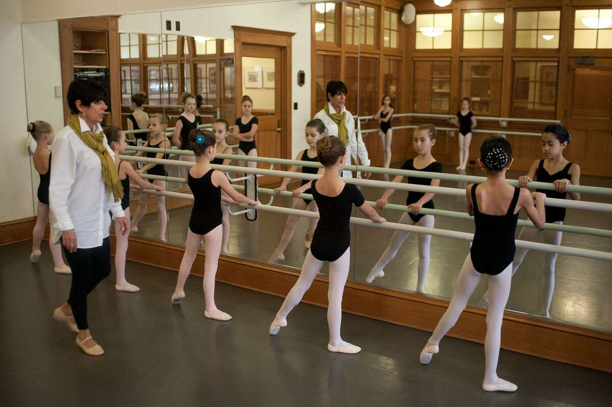 Submitted photo Susan Szabo leads a class of students from the Torrington School of Ballet.