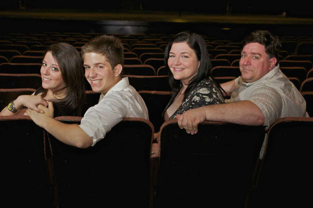 """Submitted photo From left, """"Babes on Hollywood"""" cast members are Jenna Jacobs, Luke Garrison, Juliette Garrison Koch and Joe Harding."""