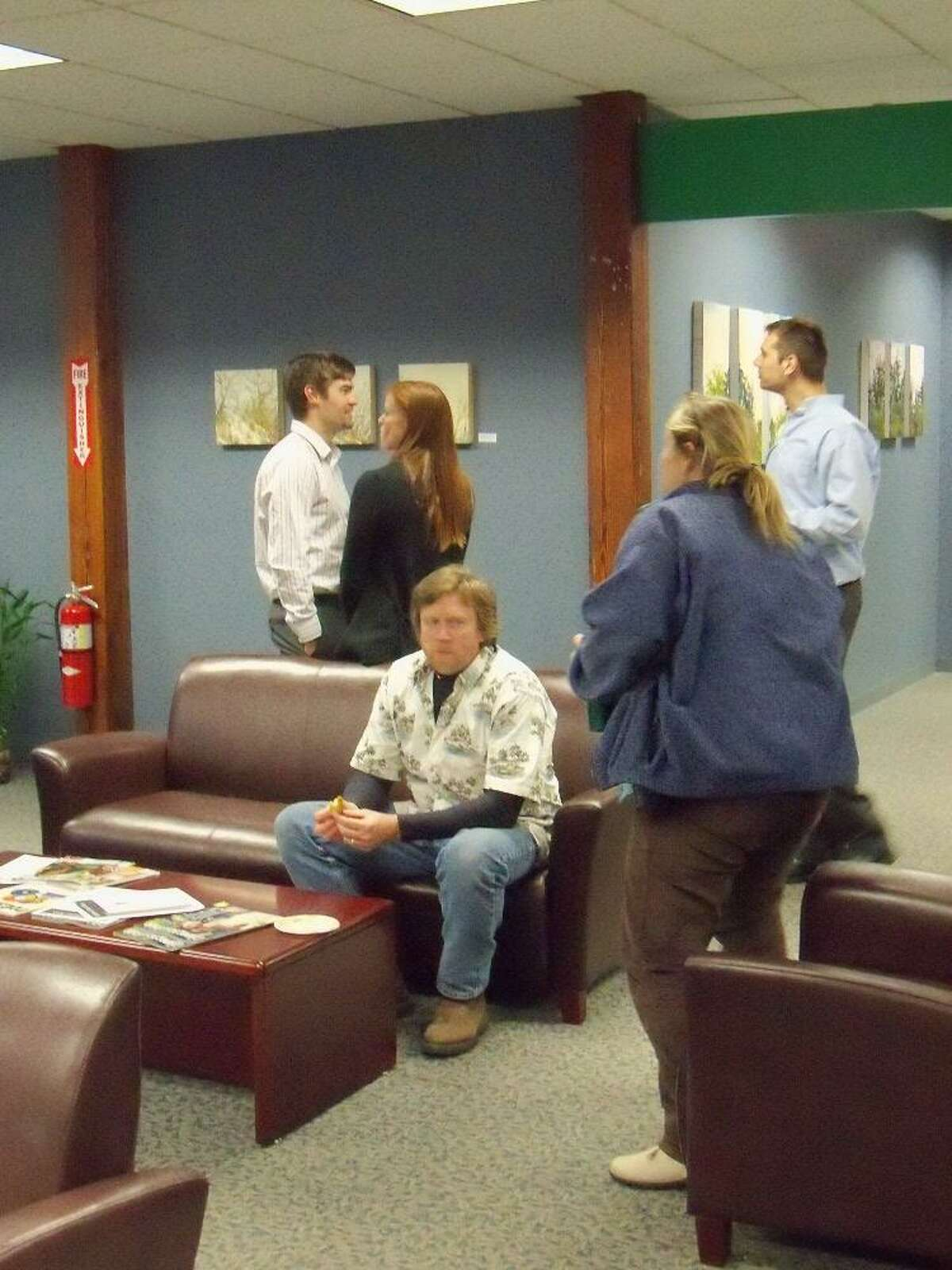 The Register Citizen Newsroom Cafe at 59 Field Street in Torrington features an