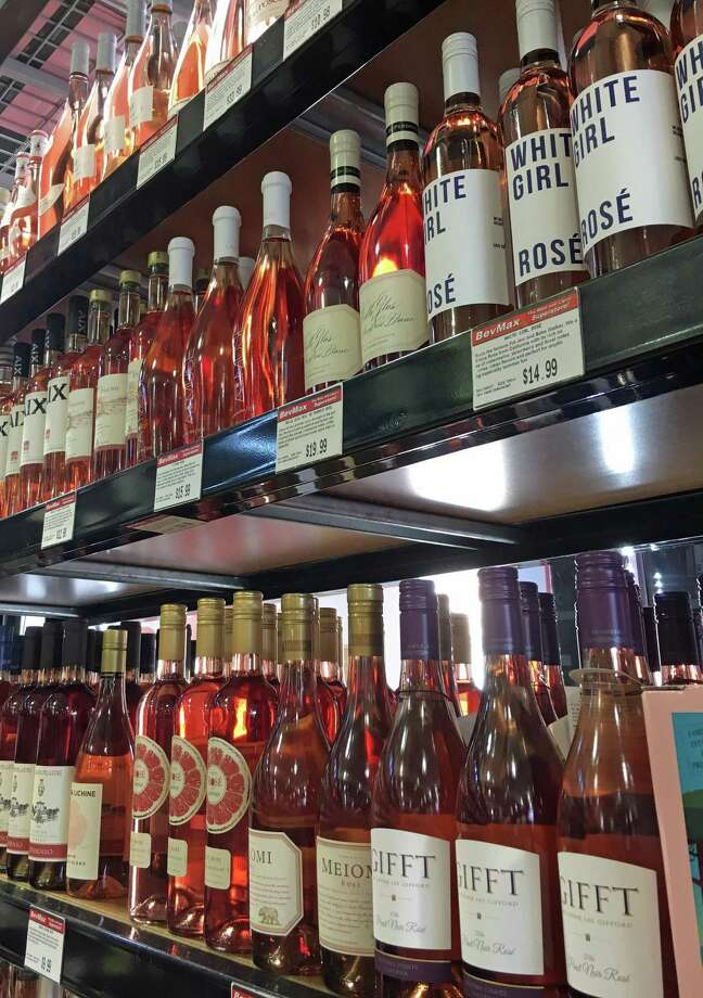 BevMax Stamford has a wide selection of rose, a style of wine that has become increasingly popular in the last several years. Photo: Christina Hennessy / Hearst Connecticut Media / Connecticut Post contributed