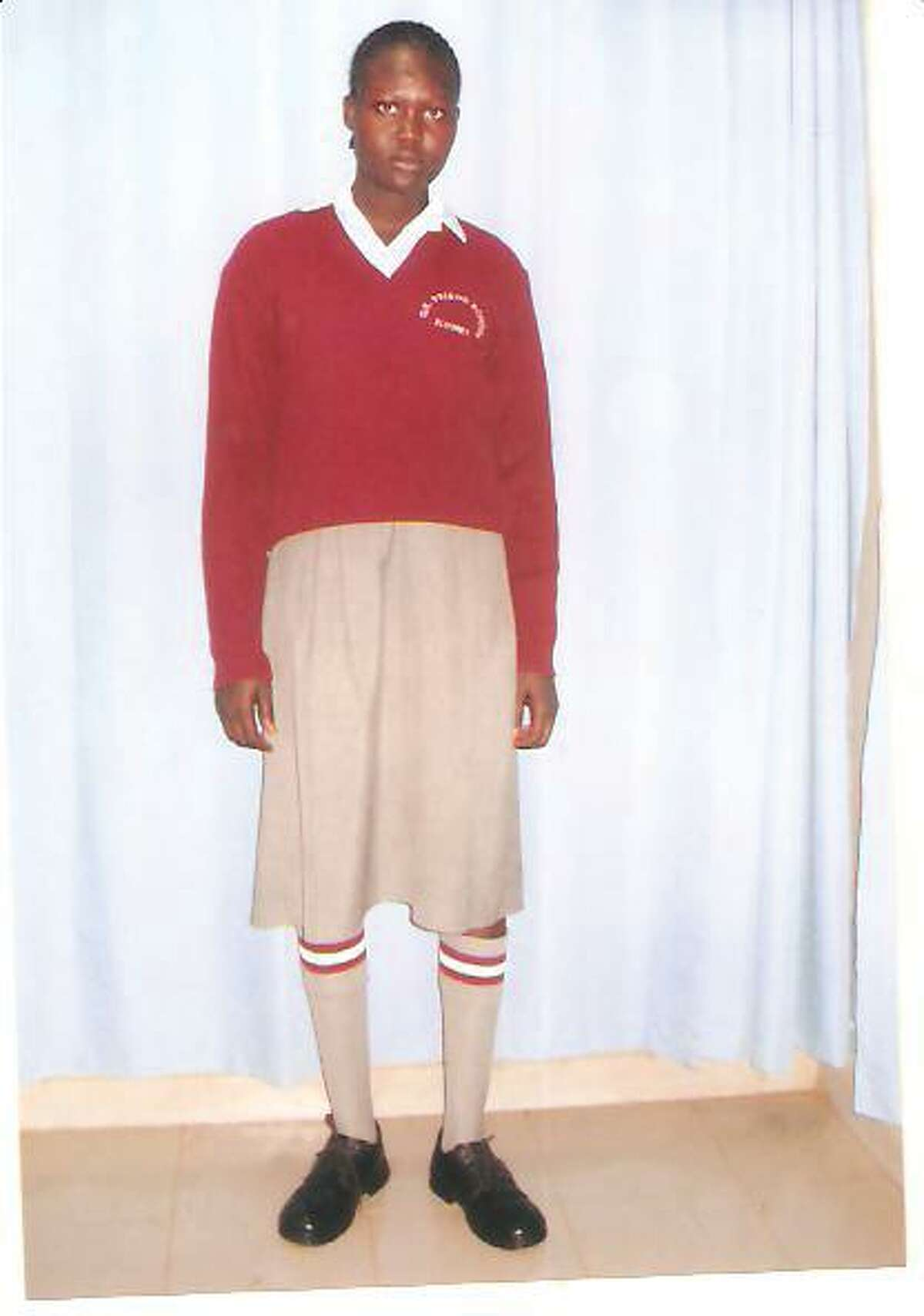 Contributed photo to the Register CitizenThe newest student and most recently sponsored orphan by New Sudan Jonglei Orphans Foundation, Akech Majok, is just one of many Sudanese refugee children the non-profit plans on helping.