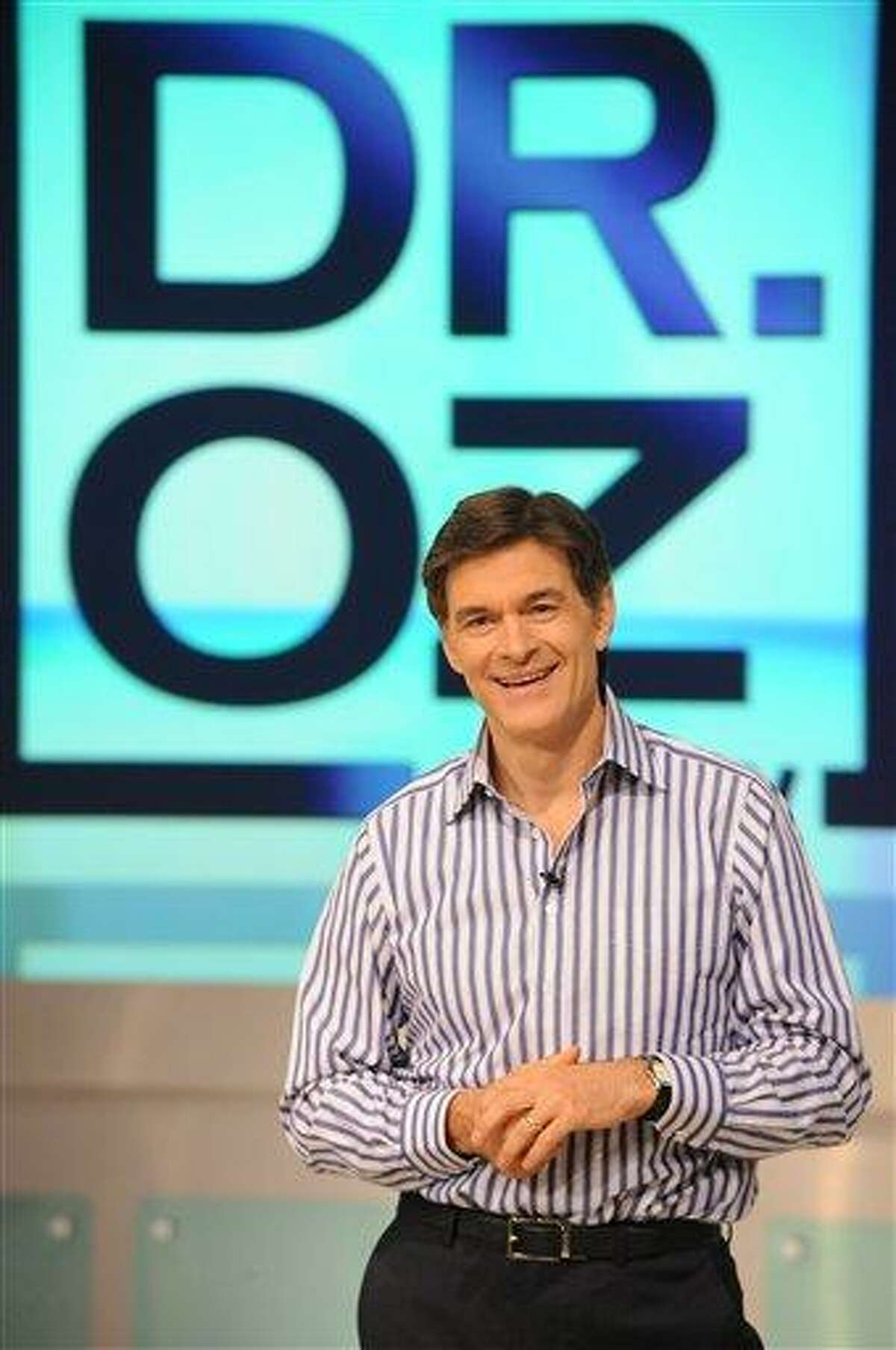 In this Aug. 12, 2009 file photo provided by Harpo, Inc., Dr. Mehmet Oz is pictured during the production of The Dr. Oz Show in New York.