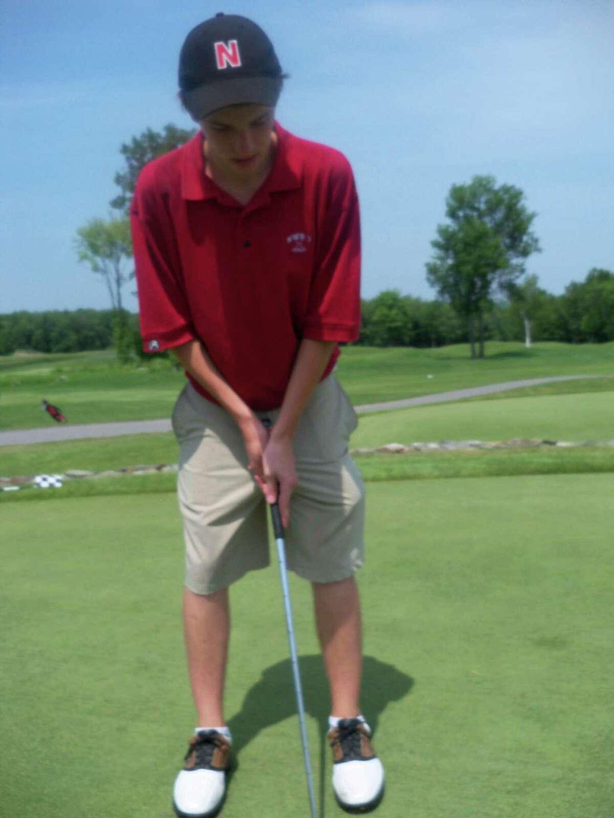 Northwestern Golfer Patrick Kane