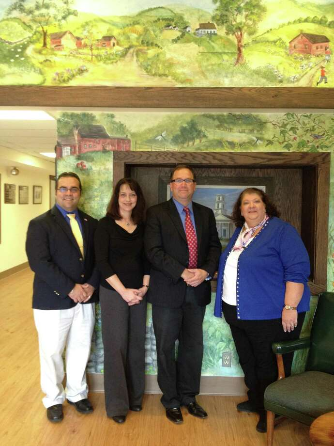 SARAH BOGUES/Register Citizen Burlington and Harwinton town officials recently learned their towns are to receive a $300,000 state Small Cities Grant, aimed at helping some residents improve their homes.