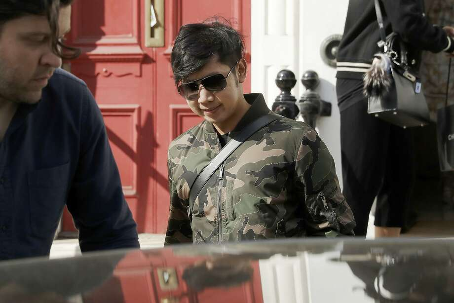 Vorayuth Yoovidhya, seen here in London in April, is suspected of driving off after striking a police officer with his Ferrari in 2012. The officer died at the scene in Bangkok. Photo: Matt Dunham, Associated Press
