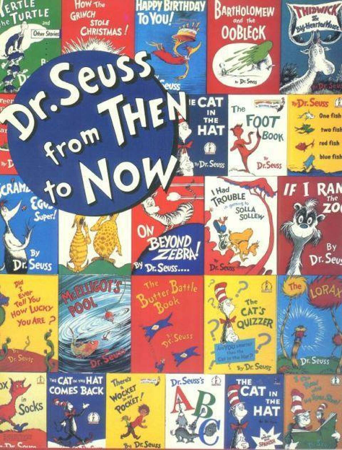 The cover of the catalog for a 1986 Dr. Seuss retrospective exhibit at the San Diego Museum of Art. Steven Brezzo, who has a home in Roxbury, collaborated with Seuss creator Theodor Geisel on the exhibit.
