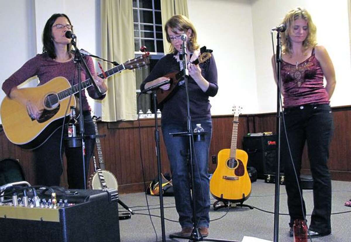 DEBBI MORELLO/Register Citizen The Boxcar Lilies made a special appearance at White Memorial Friday night.