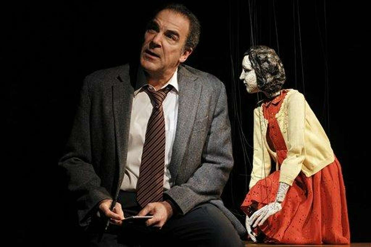 In this theater publicity image released by The Public Theater, Mandy Patinkin is shown in a scene from,