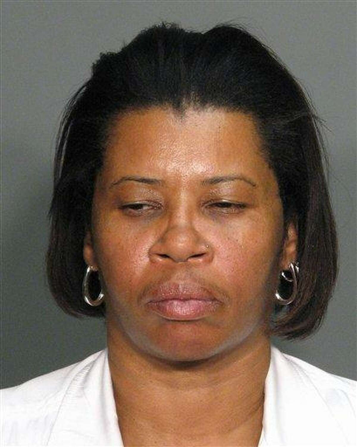 This 2010 file photo provided by the Wake County (N.C.) Bureau of Identification shows Ann Pettway. Pettway, who snatched a newborn baby from a New York hospital more than two decades ago and raised her as her own, faces sentencing in Manhattan federal court on Monday. Associated Press