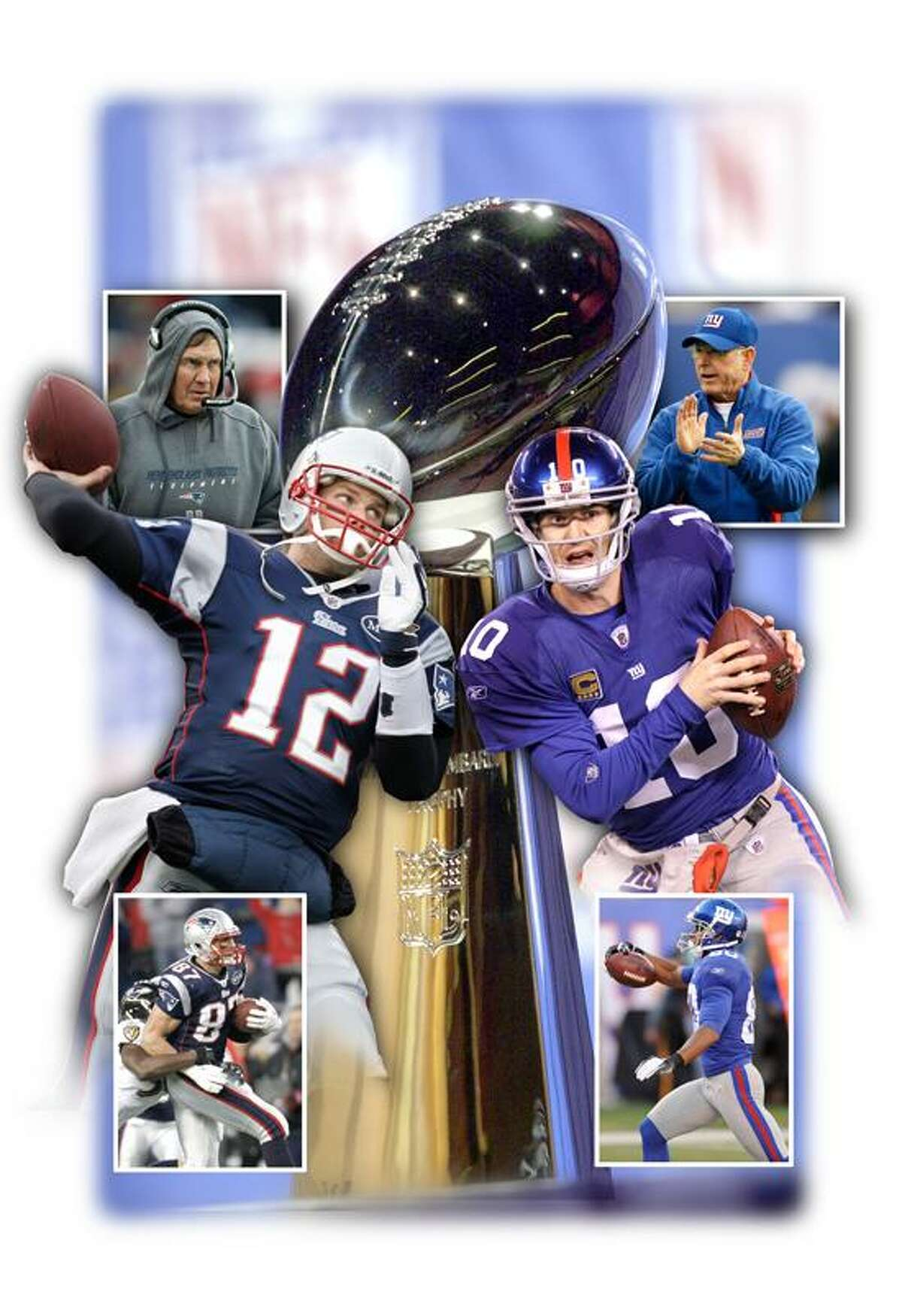 ** FOR USE AS DESIRED WITH SUPER BOWL XLII STORIES ** FILE ** The Vince Lombardi Trophy is displayed in this Feb. 1, 2002 file photo,in New Orleans. The New York Giants take on the New England Patriots in Super Bowl XLII on Sunday, Feb. 3, 2008 in Glendale, Ariz. (AP Photo/Tony Gutierrez, file)
