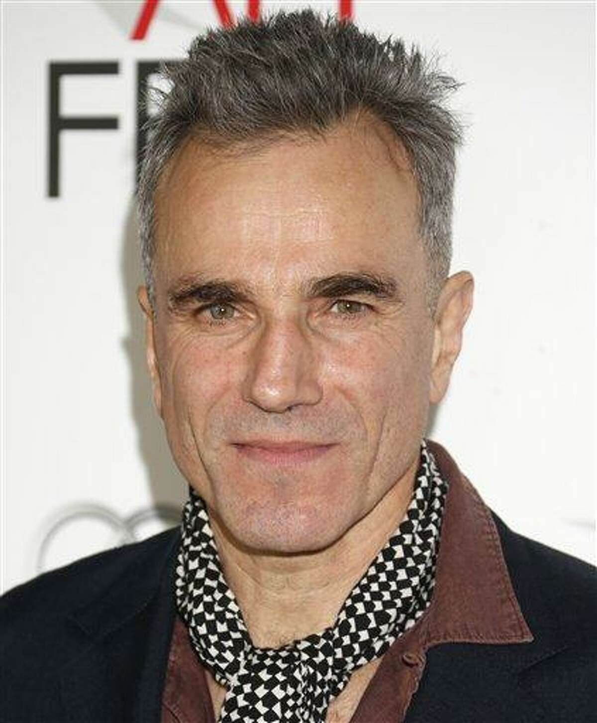 Daniel Day-Lewis arrives at the