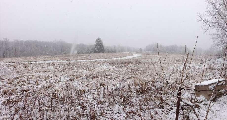 Snow in Torrington. Contributed photo/Phil Zolla