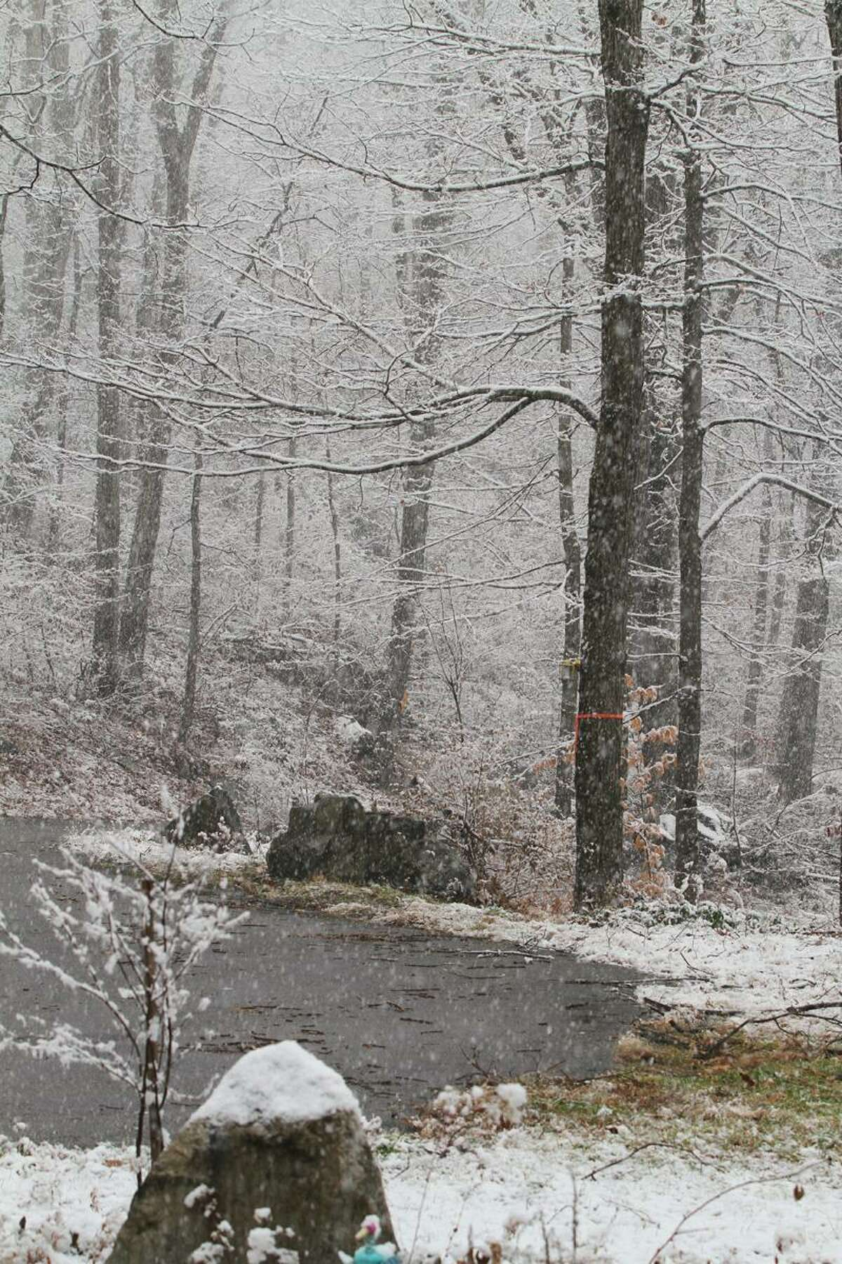 Marianne Killackey, who contributed this photo, says the snow is