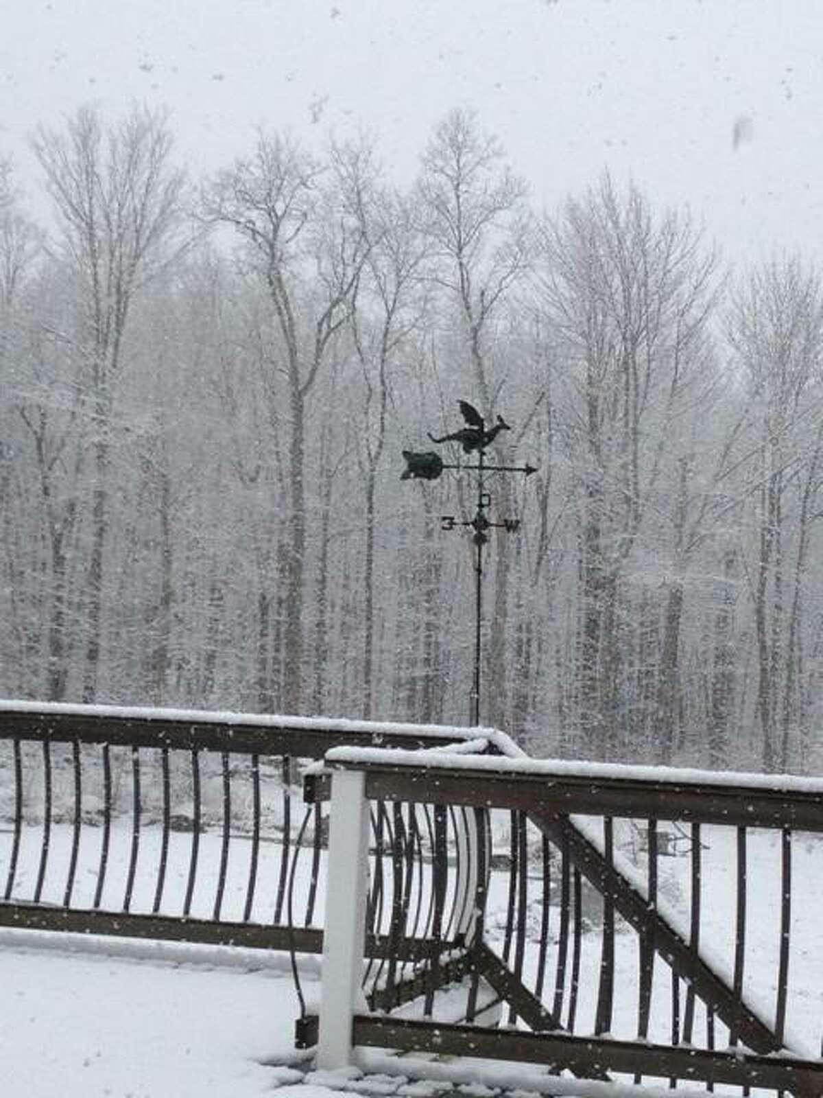 Torrington snowfall. Contributed photo/Jennifer Zordan