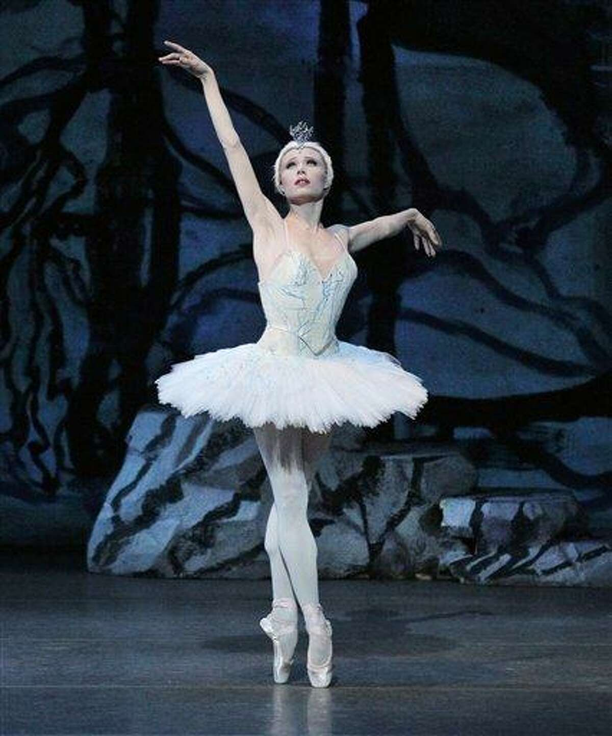 In this Feb. 11, 2011 photo released by the New York City Ballet, Sara Mearns performs in