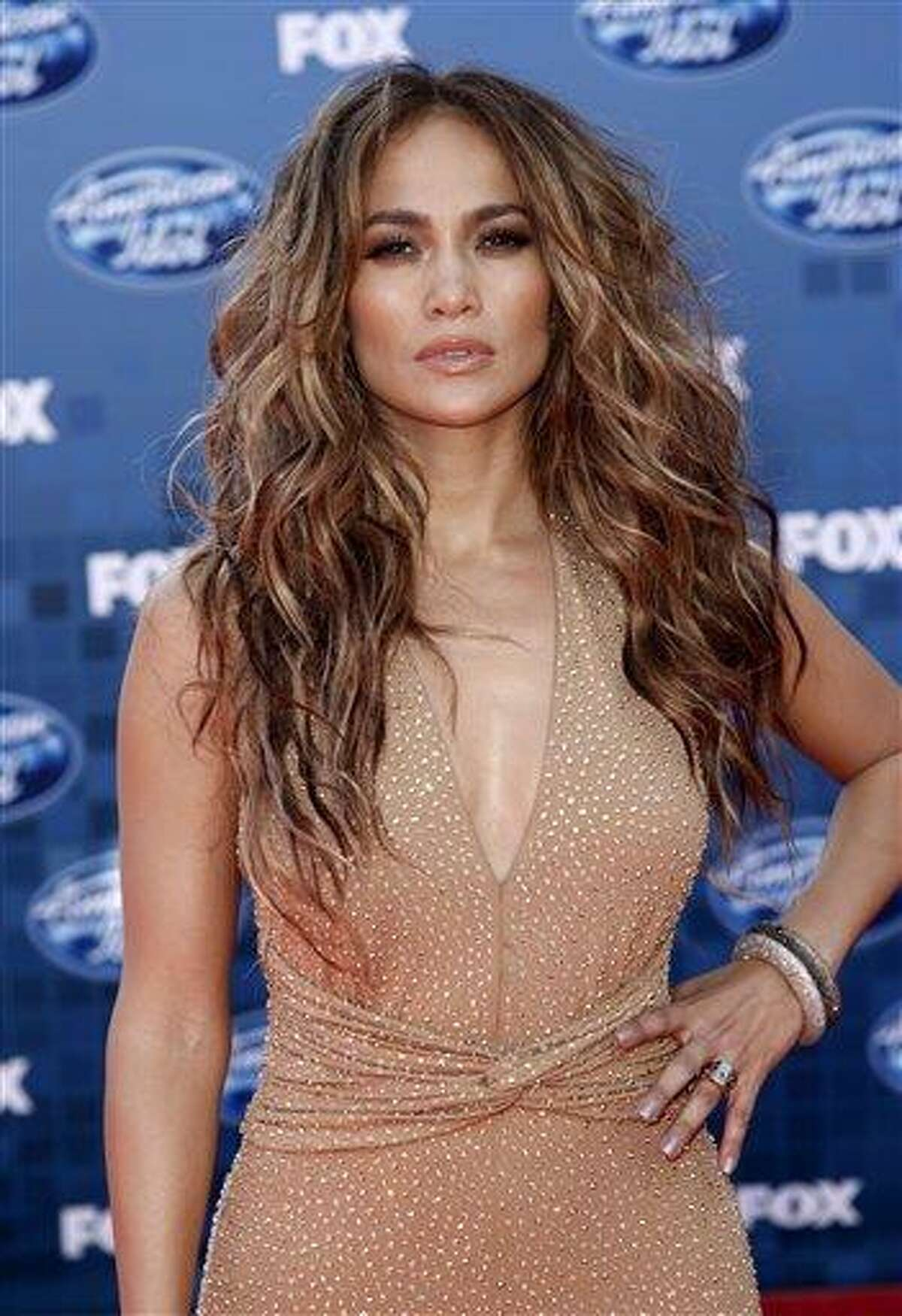 In this May 25, 2011 file photo, actress and singer Jennifer Lopez arrives at the American Idol Finale in Los Angeles.