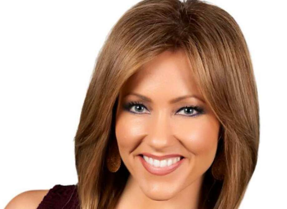 WOAI anchorwoman Delaine Mathieu was so overcome by emotion during the station's early hurricane coverage that she was unable to finish her newscast. Worry about her family on the Texas Gulf Coast was behind her tears. Photo: Courtesy Delaine Mathieu