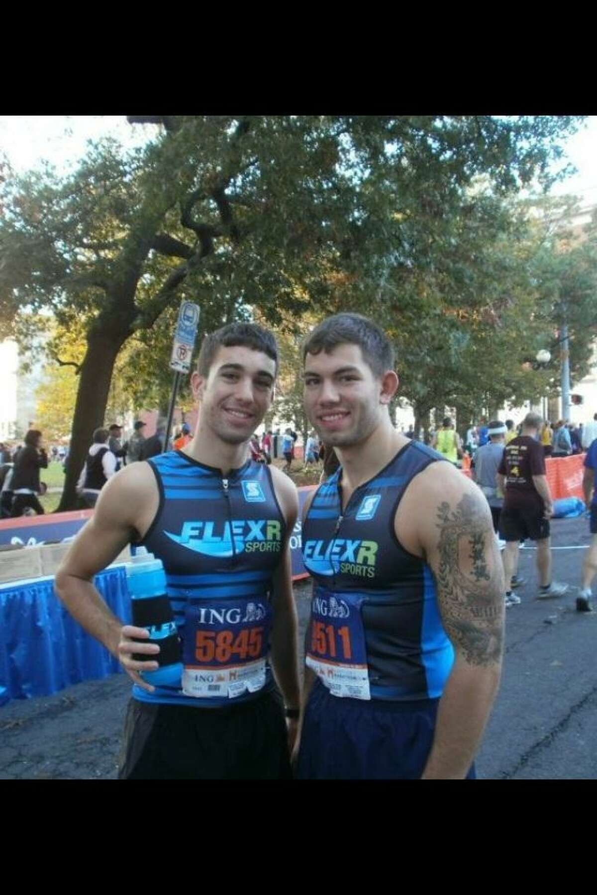 When John Corbo (left) was diagnosed with ulcerative colitis, a digestive disorder impacting him for the rest of his life, his best friend, 21-year-old Christopher Rinaldi, organized a 5k walk-run to benefit Corbo and the Crohn's and Colitis Foundation of America. The run is scheduled for Aug. 18 at 9:30 a.m.