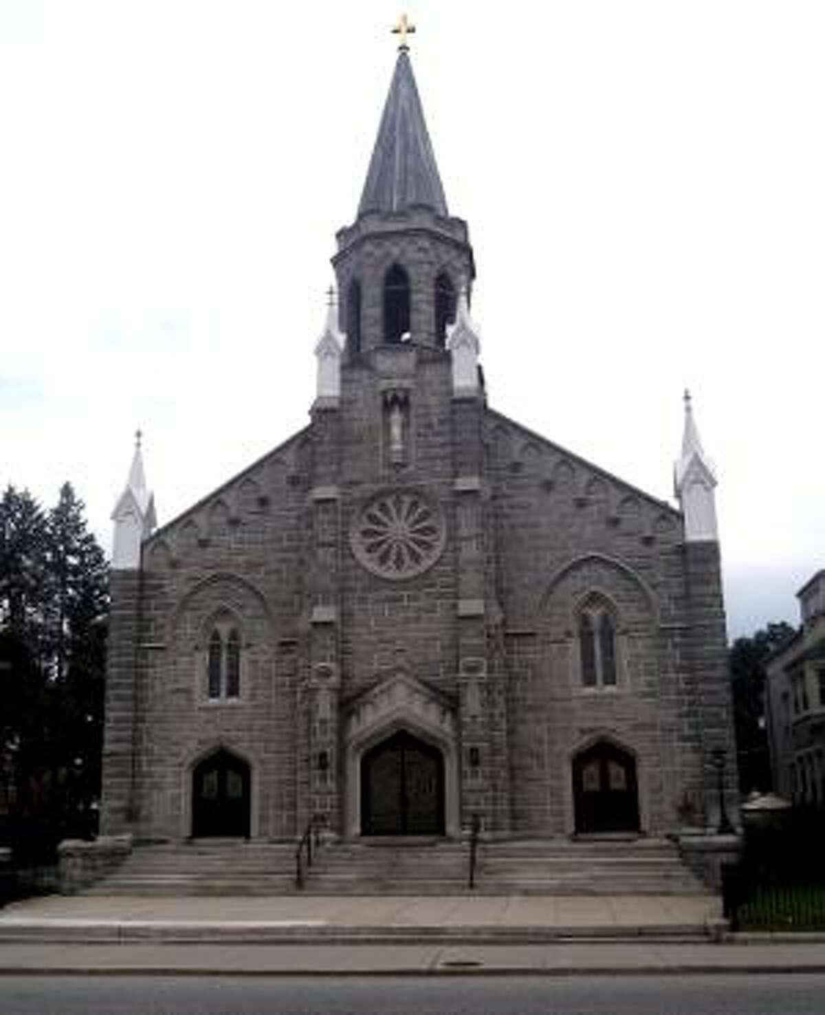 St. Peter's Church on East Main Street in Torrington.