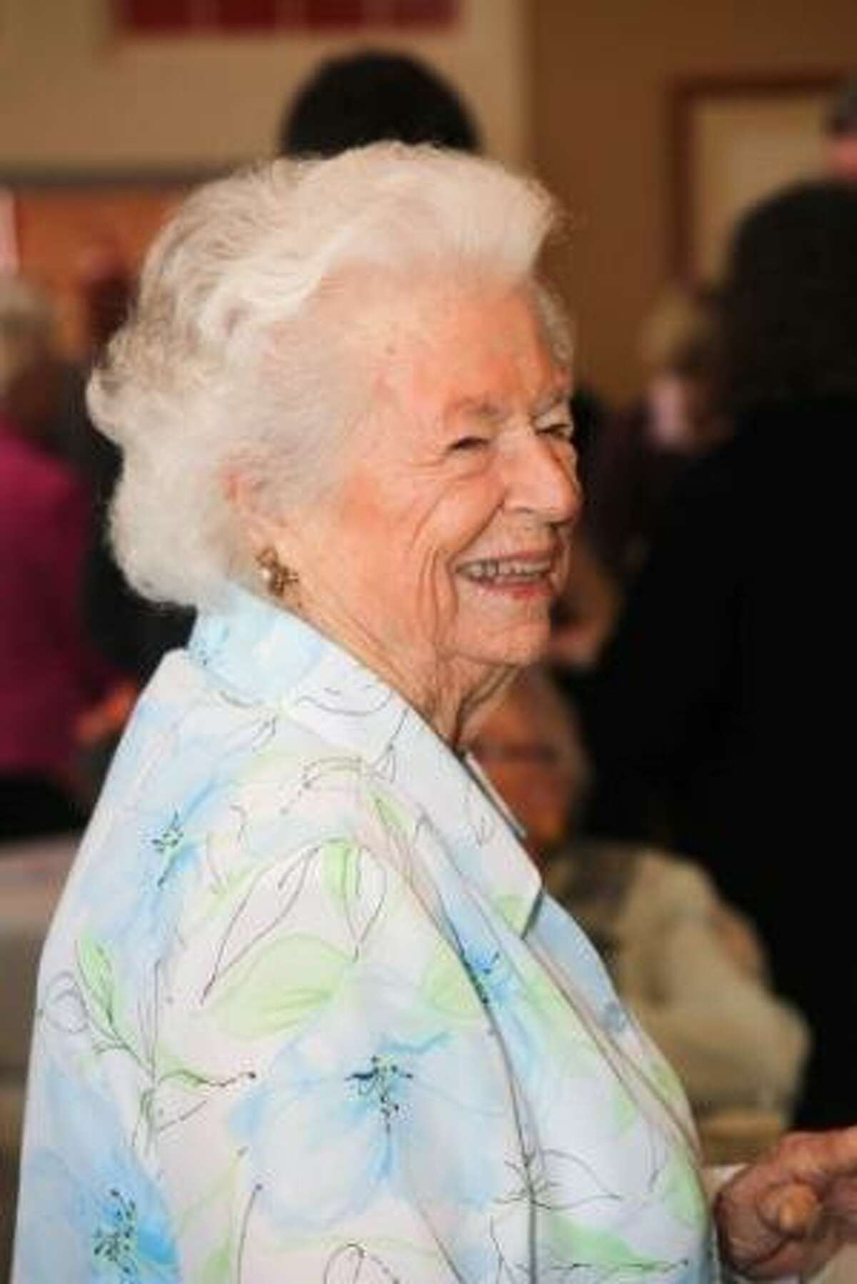 Priscilla Buckley on her 90th birthday last year. Photo courtesy of the Buckley family.