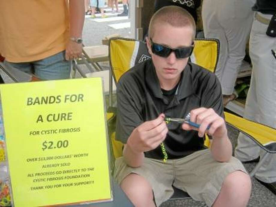 Luke Pepper sold rubber band bracelets to help raise money for a cure to Cystic Fibrosis, and organized many other events as well. He was honored as a finalist of the Gloria Barron Prize for Young Heroes.