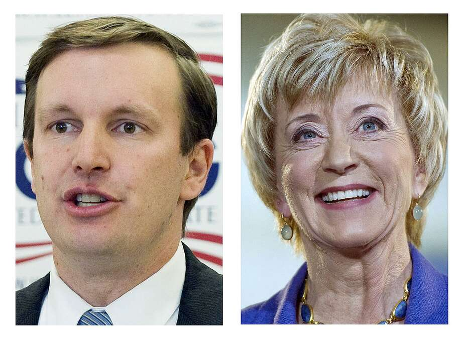 Chris Murphy and Linda McMahon face off for Connecticut's open U.S. Senate seat on Tuesday. Photo: AP / AP