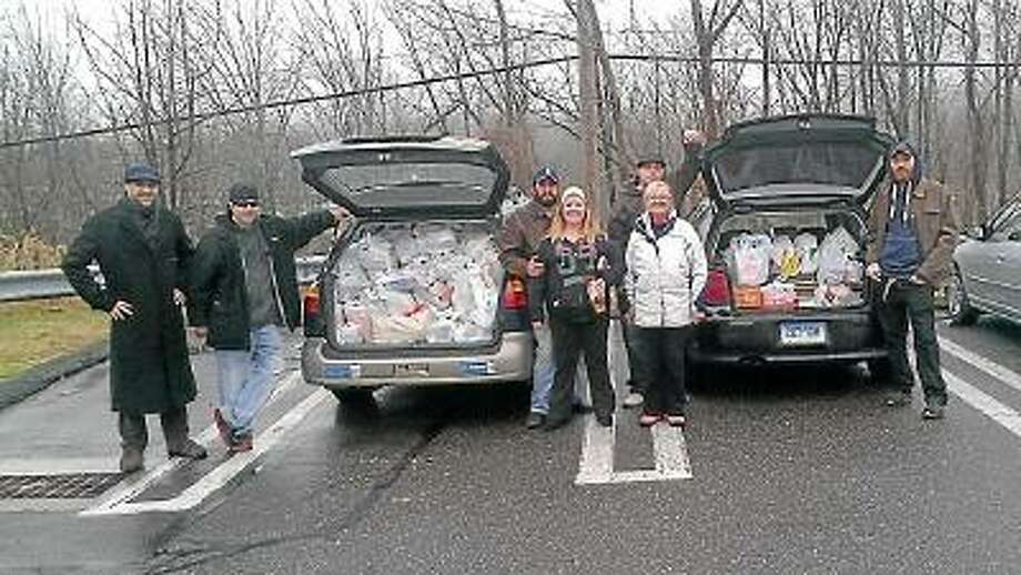 NIKKI TRELEAVEN/The Register Citizen  Spirits of '76 is hosting a clothing drive to benefit Torrington's Chapter of FISH and local homeless shelters. Earlier this month the non-profit hosted two food drives events to benefit families in need.