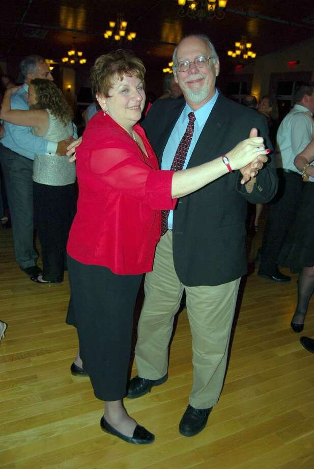 Shirley and Larry Hepner enjoy the oppotunity to dance at a recent event. They have lived in New Fairfield for about 26 years, raising their two children there. Photo: Contributed Photo / The News-Times Contributed