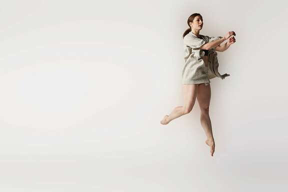 """Claudia Anata Hubiak, Artistic Director and founder of The Anata Project presents world premiere, """"Point of Dissolve,"""" in the company�s Fall Home Season at ODC�s B�Way Theater, October 19 - 21at 8PM.  Photo: courtesy of Meets The Eye Studio"""