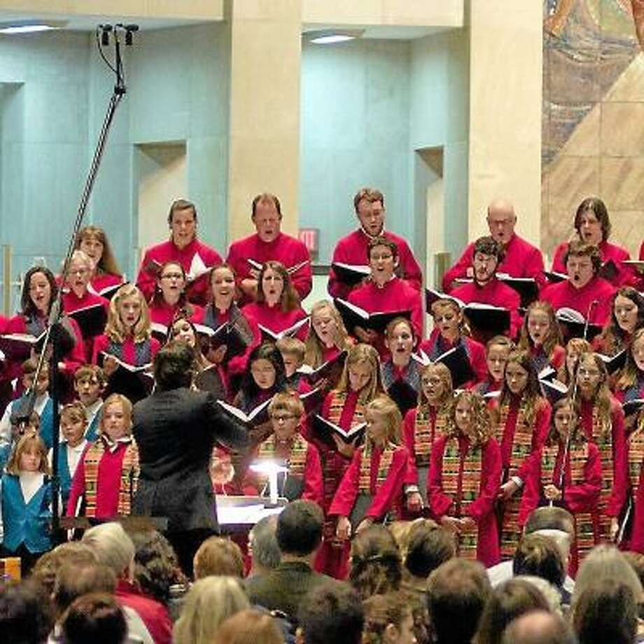 """File Photo Joyful Noise's choir groups, Chorus Angelicus and Gaudeamus, will perform in its annual """"Christmas Angelicus ñ A New England Tradition"""" five-concert series. Both choirs will perform at Trinity Episcopal Church  on Dec. 22 at 4 p.m."""