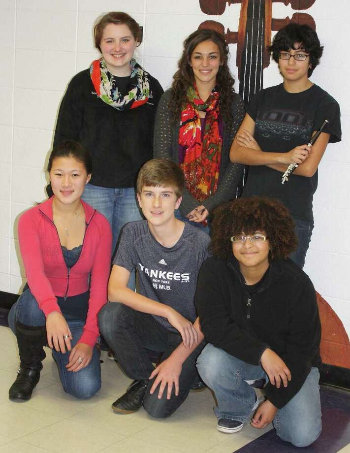 Six students from Torrington High School were selected to participate in the Connecticut Music Educators Association Northern Region Music Festival.