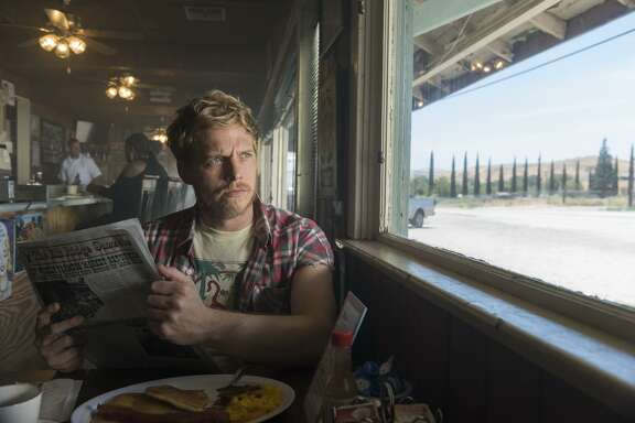 """Chris Geere plays Jimmy, who finally pops the question, then runs and holes up in a trailer park, in """"You're the Worst."""""""