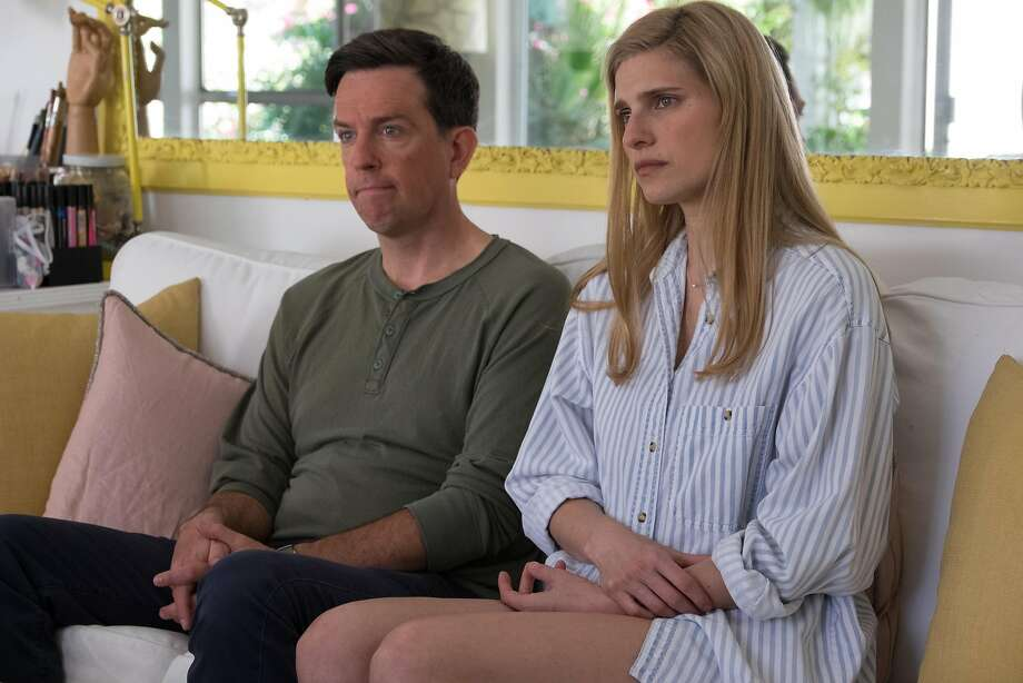 "Ed Helms and Lake Bell are a couple who take a closer look at their marriage when they become subjects of a documentary in ""I Do ... Until I Don't."" Photo: Merrick Morton, The Film Arcade"