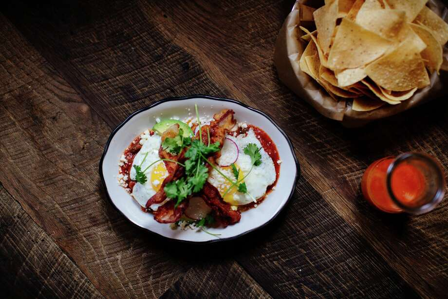 Atlanta restaurateur Ford Fry (who owns State of Grace in Houston) has acquired the former Bernadine's spot at 1801 N. Shepherd and will be opening a Mexican restaurant, Superica, in the first quarter of 2018. He currently owns two Superica restaurants in Atlanta. Shown: Huevos rancheros (house tortillas with beans, ranchero sauce,two sunny-side up eggs, avocado and bacon). Photo: Superica
