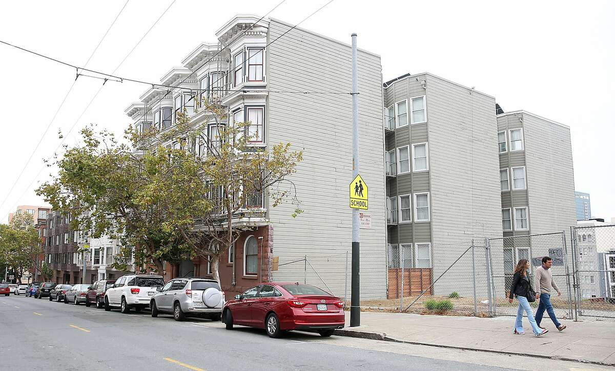 View of 951 Eddy St. on Monday, August 7, 2017, in San Francisco, Calif.