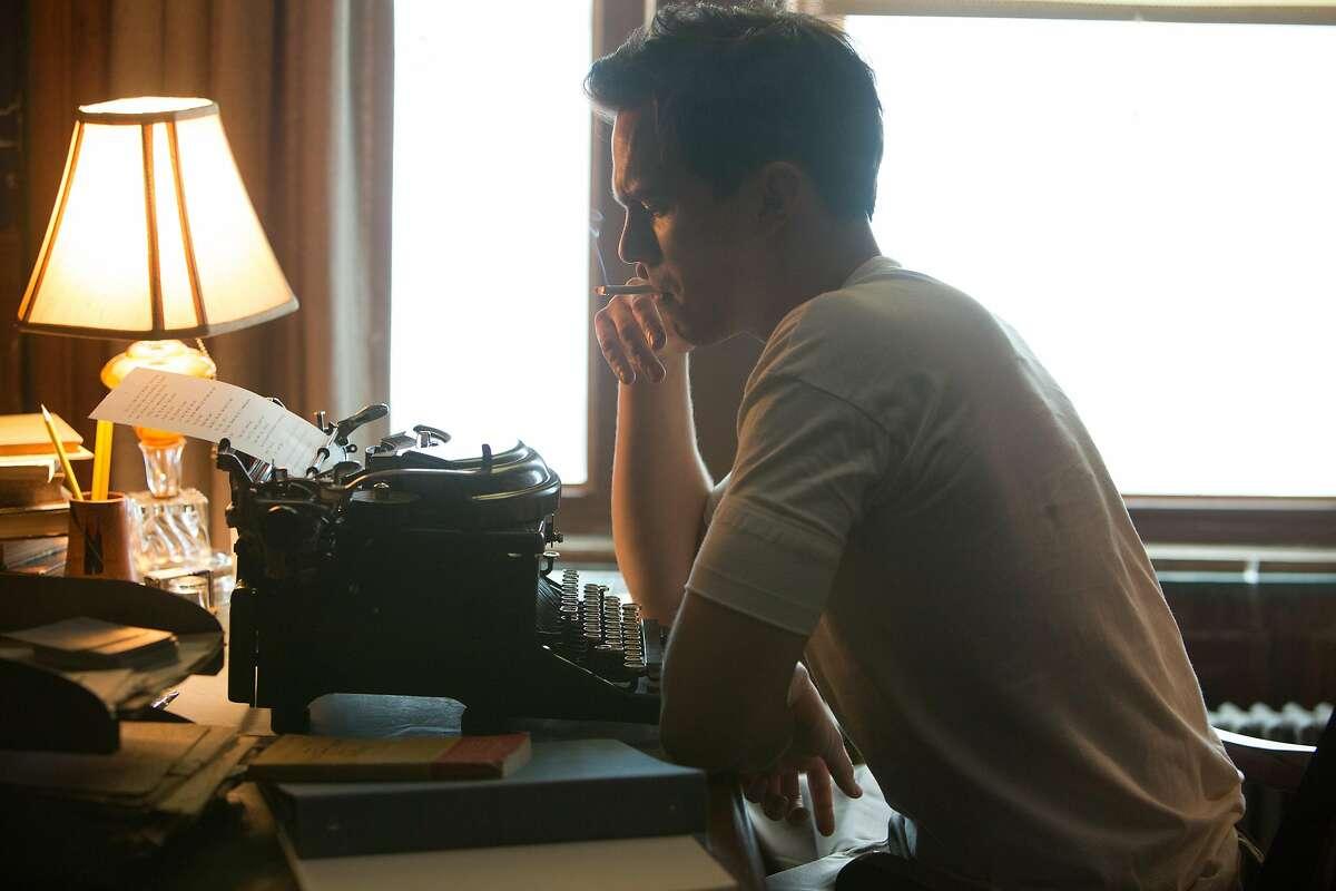 """Nicholas Hoult as J.D. Salinger in """"Rebel in the Rye."""""""