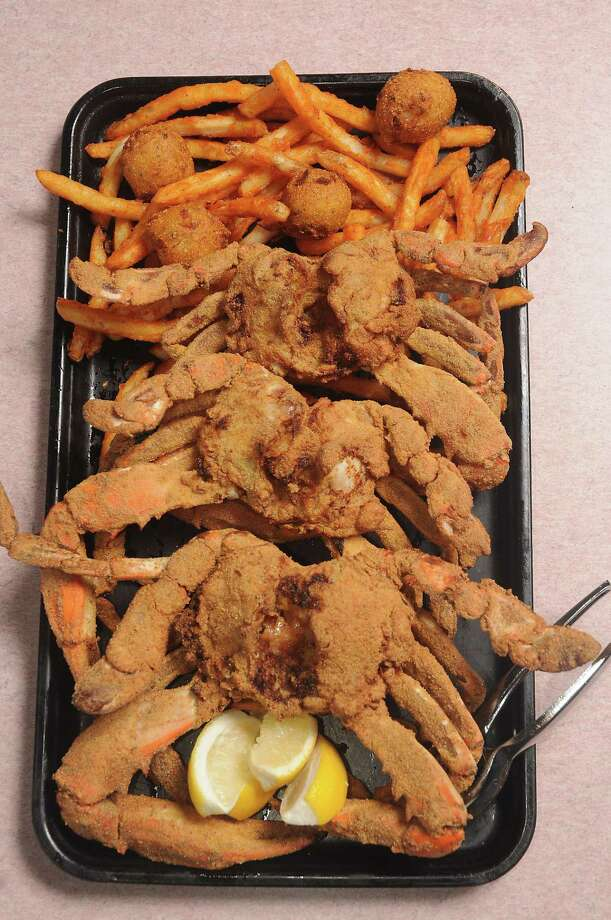 Ragin' Cajun's Barbecued Fried Blue Crabs can be made at home. Photo: Dave Rossman, Freelance / Dave Rossman