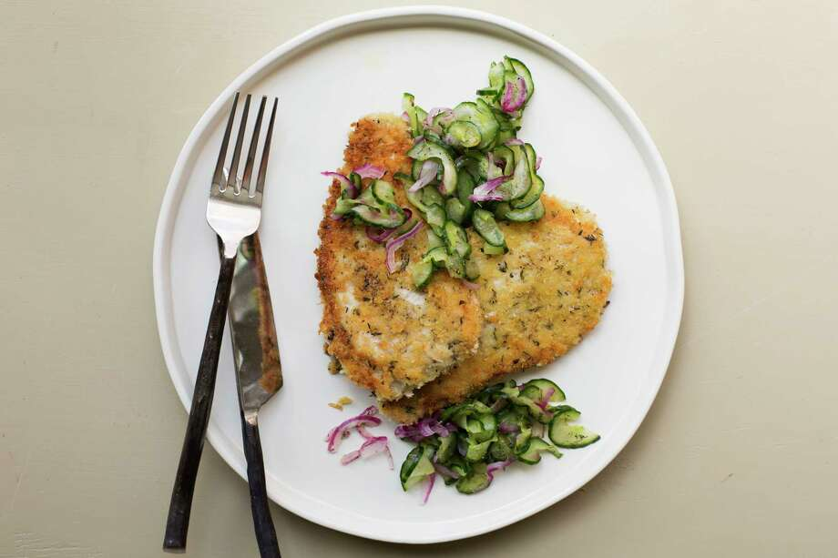 When making schnitzel, pound out the cutlets to make them even more tender. Photo: Sarah E Crowder, UGC / Sarah E Crowder
