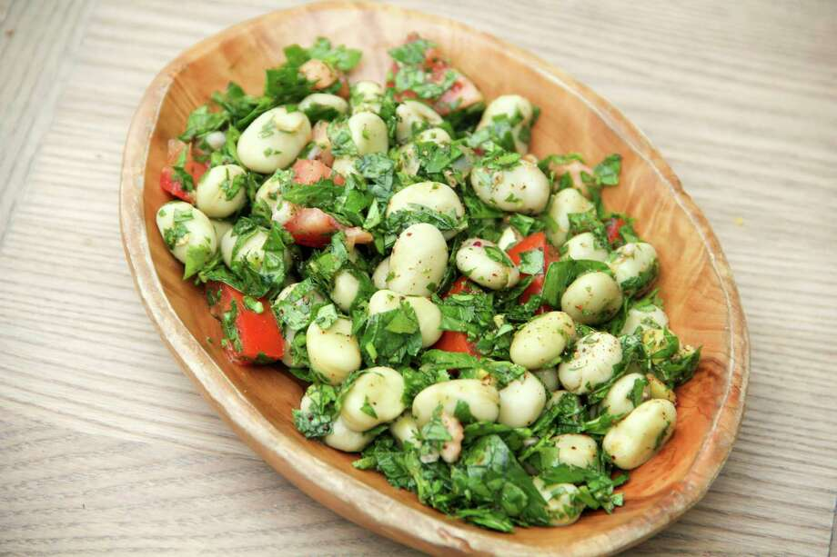 Fava beans replace classic bulgur wheat in this tabbouleh. Photo: Melissa D'Arabian, UGC / Melissa d'Arabian